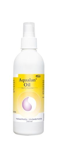Aqualan Oil ihoöljy pumppupullo 200 ml