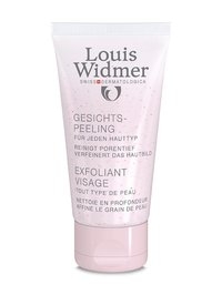 Louis Widmer Face Peeling 50 ml hajustettu