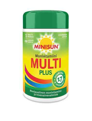 Minisun Monivitamiini Multi Plus