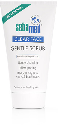Sebamed Clear Face Gentle Scrub 150 ml