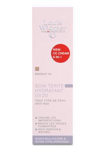 Louis Widmer Tinted Moisturizer UV20 CC-voide 6in1 Bronze hajustettu 30 ml
