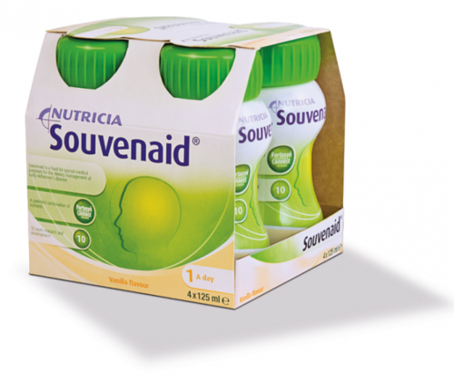 Souvenaid vanilja 4 x 125 ml