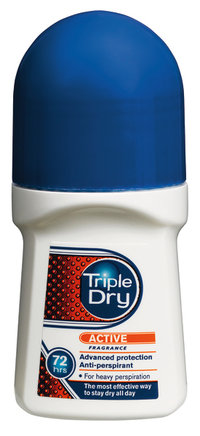 Triple Dry Mens Active Fragrance Roll-on 50 ml