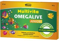 Multivita Omegalive Junior 45 kpl