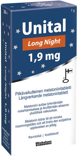 Unital Long Night 1,9 mg