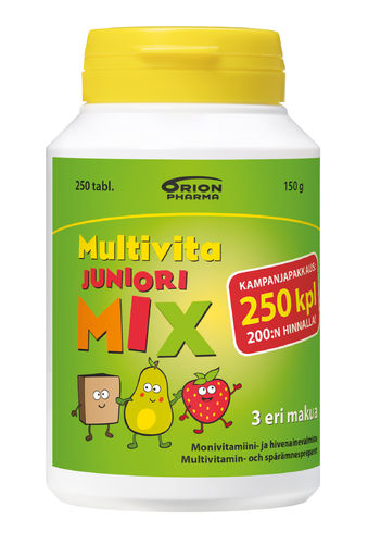 Multivita Juniori Mix 250 tabl.