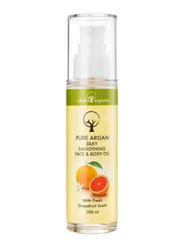 Okabo Pure Argan Face & Body Oil Grapefruit