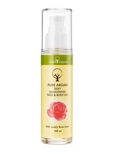 Okabo Pure Argan Face & Body Oil rose 100 ml