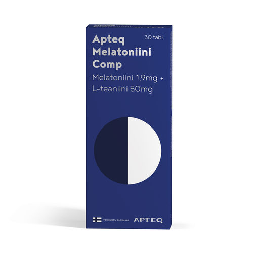 Apteq Melatoniini Comp 1,9 mg