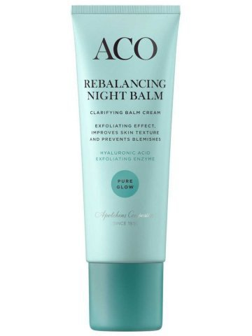 Aco Pure Glow Rebalancing Night Balm Cream 50 ml