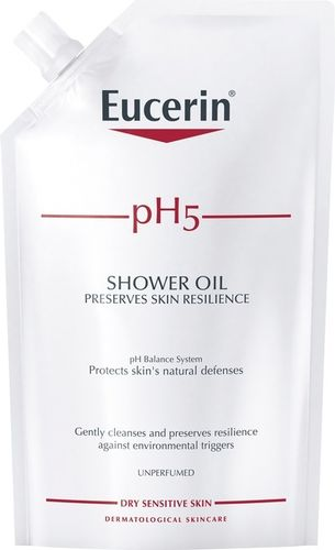 Eucerin pH5 Shower Oil Refill 400 ml hajustamaton