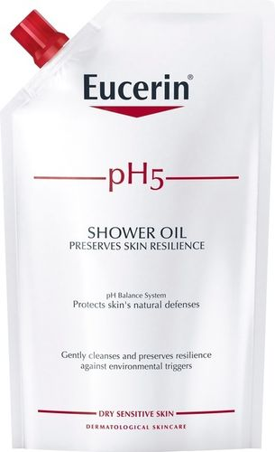 Eucerin pH5 Shower Oil Refill 400 ml hajustettu