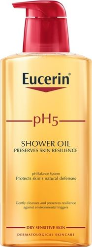 Eucerin pH5 Shower Oil 400 ml hajustettu