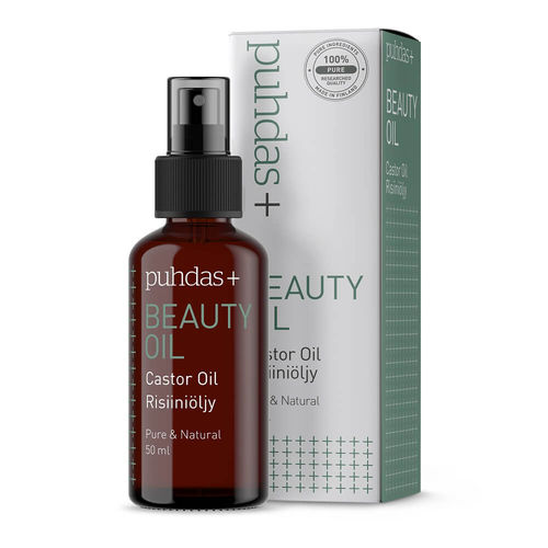 Puhdas+ Beauty Oil Castor Oil risiiniöljy 50 ml