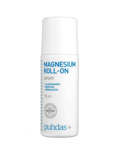Puhdas+ Magnesium roll-on Sport 75 ml