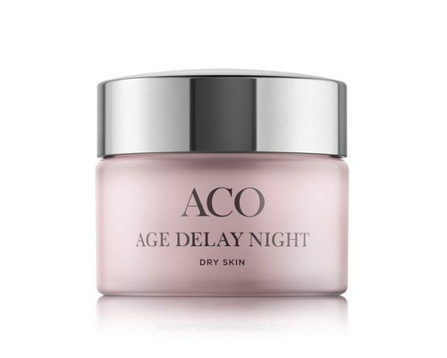 Aco Age Delay Night Cream Dry Skin 50 ml
